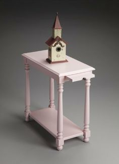 Butler Specialty 5017254 Masterpiece End Table in Cherry Blossom by Butler Specialty. $200.25. Whimsical End Table in Cherry Blossom from the Masterpiece Collection by Butler Specialty. Dimensions: 24.25 H 12.00 W - 5017254