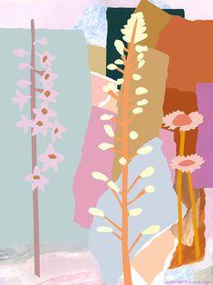 In His Garden - Print - Leah Bartholomew Canvas Artwork, Canvas Art Prints, Fine Art Prints, Painting Inspiration, Art Inspo, Art Et Illustration, Henri Matisse, Pics Art, Art Drawings