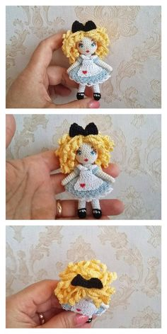 Web Server's Default Page Doll Amigurumi Free Pattern, Crochet Amigurumi Free Patterns, Crochet Doll Pattern, Amigurumi Doll, Crochet Toys, Crochet Doll Tutorial, Crochet Disney, Little Doll, Doll Patterns