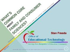What's Common Core about Family and Consumer Sciences?