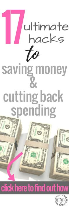 These money tips have saved me thousands of dollars and they're super easy to implement today.