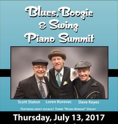 Tickets & InfoNext Appearance DAVE KEYES BAND Frank Pagano/drums Sue Williams/ bass and Chris Eminizer/ saxophone  Sunday July 23rd 10:30amSunday Blues/ Gospel Brunch Live@The Falcon1348 US-9W Marlboro NY 12542(845) 236-7970Tickets & Info  New York City native keyboardist singer and songwriter Dave Keyes is a 30 year veteran of the Blues Roots and Americana music scene. He has released five highly acclaimed albums under his own name has been named the Best Unsigned Artist by Keyboard…
