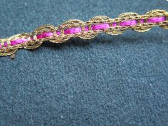 Braid-Ribbon-Ornemental Trimmings-XIXth Silk and by UnPetitChateau