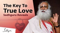 The Key To True Love. Sadhguru Reveals | Valentine's Day Special - YouTube Spiritual Thoughts, Spiritual Enlightenment, Spiritual Awakening, States Of Consciousness, Valentine Day Special, Finding True Love, Healing Quotes, The Kingdom Of God, Business Motivation