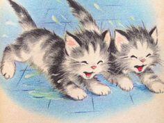 THE KITTEN TWINS: Elizabeth Webbe http://twin-rabbit.com/?pid=63263550