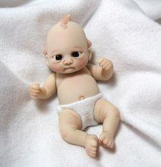 Polymer Clay Babies | polymer clay baby doll