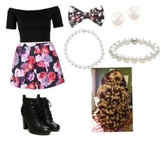 """""""roses"""" by maegreilly ❤ liked on Polyvore"""