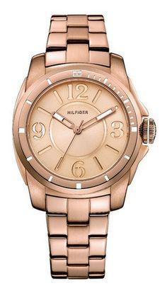 Een prachtig rosé horloge van Tommy Hilfiger, dat is deze TH1781141. Dit horloge is een musthave voor de zomer maar ook de herfst staat deze prachtig!