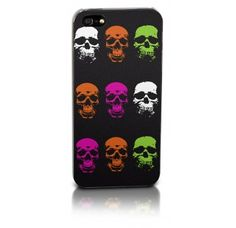 Flouro Skulls iPhone case for iPhone and iPhone 5 - Pop art styled skull iPhone case.Flouro Skulls iPhone case - iPhone 4 and 5 - Pop art styled skull iPhone case. Iphone 4, Iphone Cases, Skulls, Pop Art, Gadgets, Gifts, Stuff To Buy, Presents, Art Pop