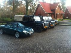 MG MGF & Land Rover Defender 130 (realized!)