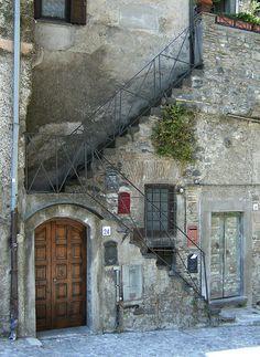Stairs    Taken in Brachiano (Italy)