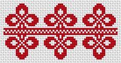 National motives 7 - free cross stitch pattern