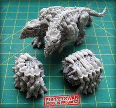 We heard that you've been asking about magnetised counters for your monstrous models. What do you think of this look?