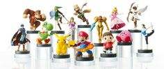 Nintendo Amiibo Figures announced at E3