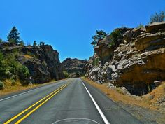 Love to be on the road on hot, summer days! ~east of Wenatchee, WA (2011)  #cntroadtrip
