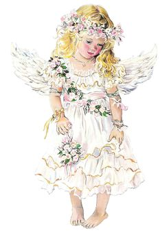 Little Angel - By: Christine Haworth - Artist