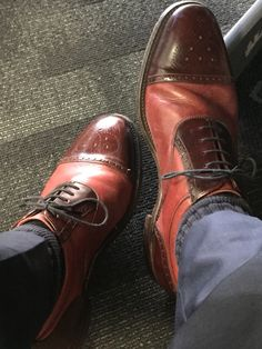 Higham's from Loake Bros under a desk in Wellington NZ