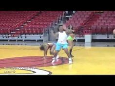Male dancer killing it at Miami Heat cheerleader try outs