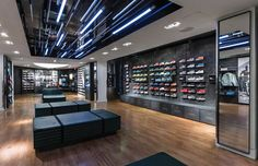 NIKETOWN NEW YORK LEVEL UP on Behance | Commercial Lighting | https://www.facebook.com/CityLightingProducts/