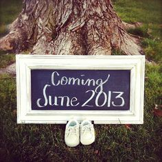My announcement :) Dream Baby, Baby Love, Pregnancy Announcement Shoes, Baby Announcements, Baby Pictures, Baby Photos, Best Baby Blankets, Baby Name Generator, Bitty Baby