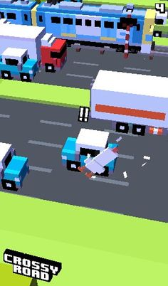 Crossy road!