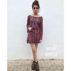 Vestido amado! ❤️ #lojaamei #vestido #melissa