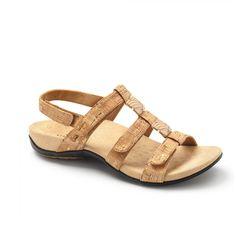 92c4c89c851ea Amber Adjustable Sandal (Gold Cork)
