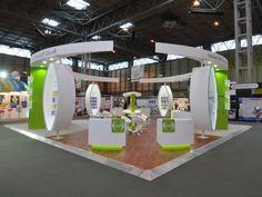 Custom exhibition stand - IOSH