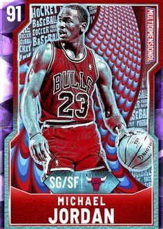 '95 Michael Jordan (91) - NBA 2K20 MyTEAM Amethyst Card - 2KMTCentral