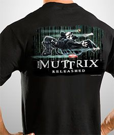 'The Muttrix' #thematrix movie parody tee!
