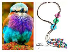 Nature in its magnificence is my inspiration, this time I present the necklaces ¨Hippie Happy¨, a new line fully inspired in the plumage of this beautiful African bird, the Lilac Breasted Roller, the colors of its feathers are incredibly amazing and I humbly wanted to recreate them in this new line. Hugs and enjoy .. #UnicaConNinaStudio #Pendants #Pebbles #HechoAMano, #Handmade #AmazingAccesories #PolymerClayJewelry #VenezuelanDesign #HechoAManoEnVenezuela