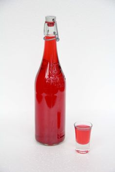 Homemade Raspberry Vodka