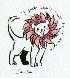 Lion King fan art - Simba