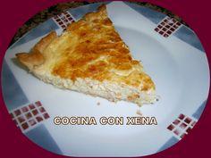 COCINA CON XENA: Quiche de calabacín, puerro etc...en Thermomix feta!!!! Amb pastanaga i afegit formatge ratllat 50gr (sense lactosa tot)