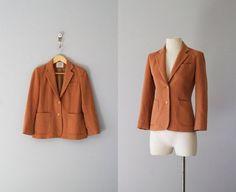 Cashmere wool 70s Blazer £19.59