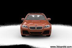 Bmw 5series F10 Tuning lumma 3d Model
