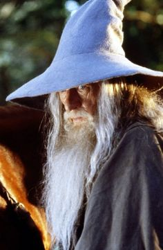 Ian McKellen in The Lord of the Rings.    /  Love this picture EL.