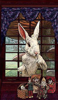 Playfulnes - White Rabbit Oracle by Arianna Siegel