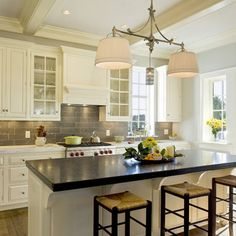 Backsplash Kitchen Marble Design, Pictures, Remodel, Decor and Ideas - page 10
