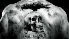 Here is a list of 50 Skull Tattoo Designs for Men. I hope you will like These Skull Tattoo Designs. When we are talking about Skull Tattoo Designs for men, one must ensure that he has chosen the right place for tattooing. Hd Tattoos, Tattoo Platzierung, Paar Tattoos, Movie Tattoos, Band Tattoo, Celtic Tattoos, The Expendables, Expendables Tattoo, Cool Back Tattoos