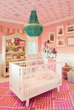 gorg. girls nursery // maybe one day? // Penelopes Look for Less Nursery - 6th Street Design School