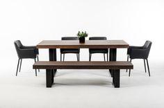 Modrest Lola Modern Wenge Walnut Dining Table