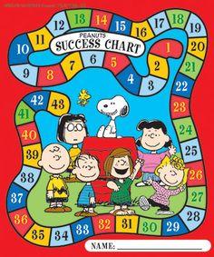 Peanuts Game Mini Reward Chart by Eureka $4.99