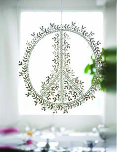 Peace Wreath by Nima Oberoi