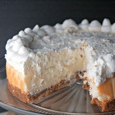 Cheesecake Factory Copycat for Vanilla Bean Cheesecake with White Chocolate Mousse.