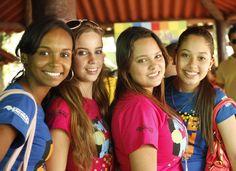 Sinergia total! O clima de animação e troca de experiência tomou conta dos protagonistas na etapa estadual do Circuito de Juventude 2011.
