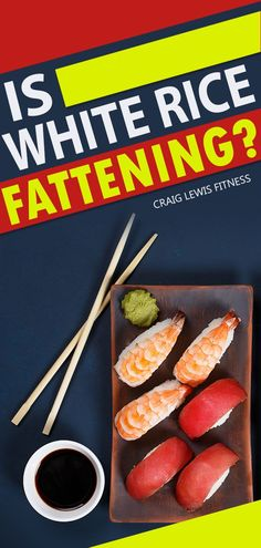 "Is white rice fattening? Honestly, there's no ""right"" or ""wrong"" answer when it comes to this question. In fact it's bit of a grey area for this question and any other question that asks will a specific food make you fat. Even if you want to know how to lose a muffin top. Quick Weight Loss Diet, Weight Gain, Weight Loss Tips, Healthy Eating Tips, Healthy Mind, Detox Tips, White Rice, How To Lose Weight Fast, Diets"