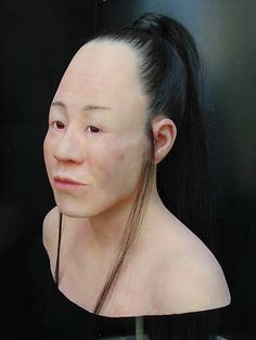 (not alien skulls - p.mc.n.) Skull binding: reconstruction of the face of a Hunnish woman http://www.pinterest.com/highonsound/physical-anthropology/