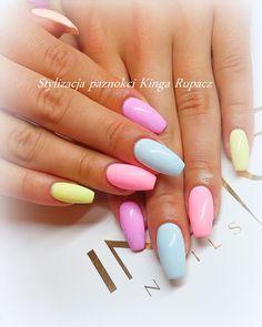 by Kinga Rupacz :) Follow us on Pinterest. Find more inspiration at www.indigo-nails.com #nailart #nails #indigo #pastel