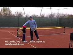 Kids Tennis Lesson (live) - part 2 - how to teach tennis to little kids (age 4 - 10)